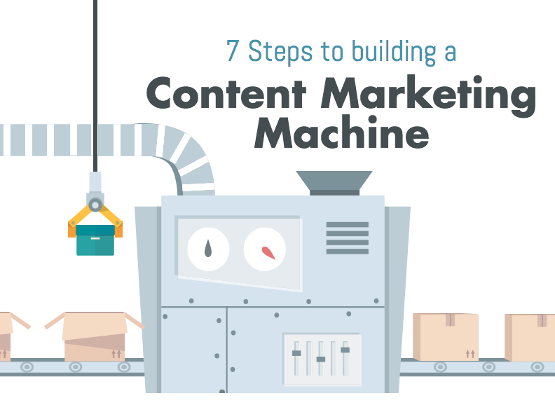 7 Steps to Building a Content Marketing Machine [infographic]