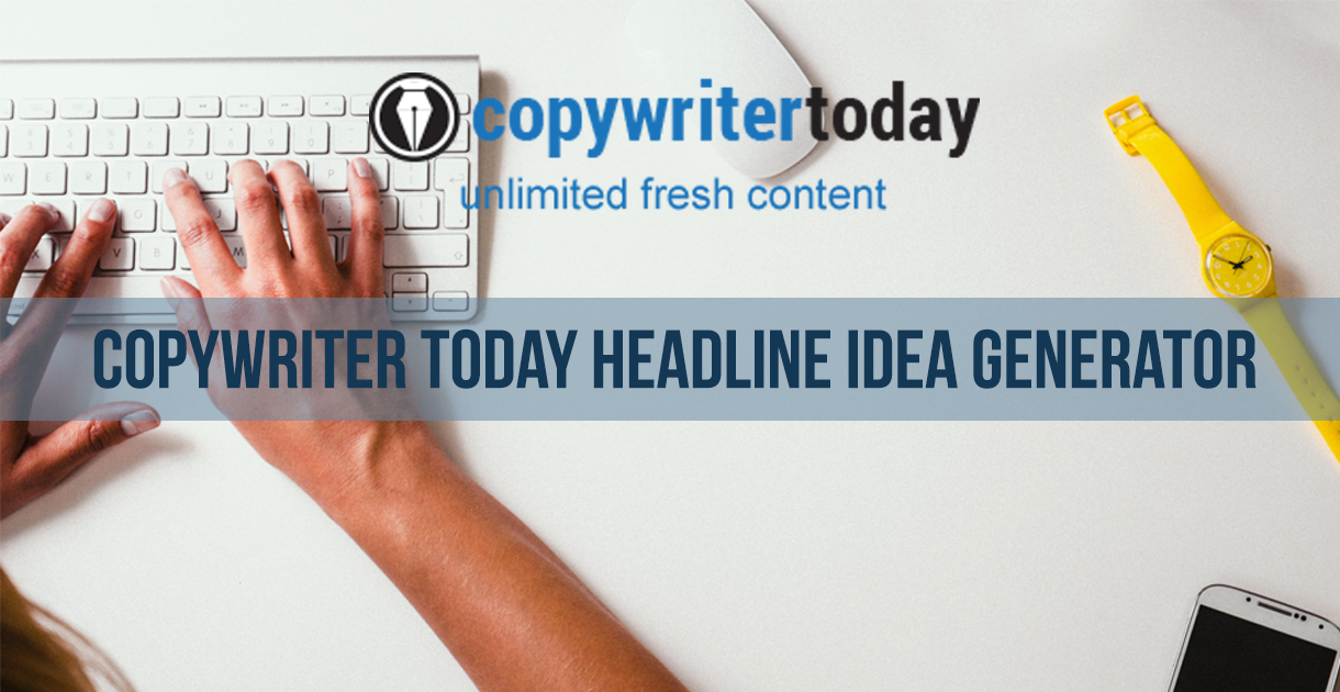 Title Generator from Copywriter Today