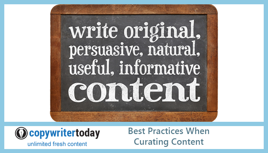 Best Practices When Curating Content