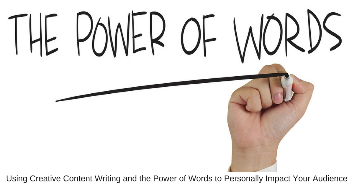 Essay about the help power of words