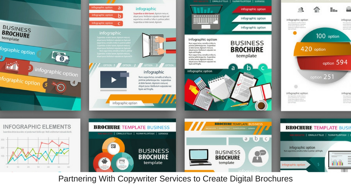 Partnering With Copywriter Services to Create Digital Brochures
